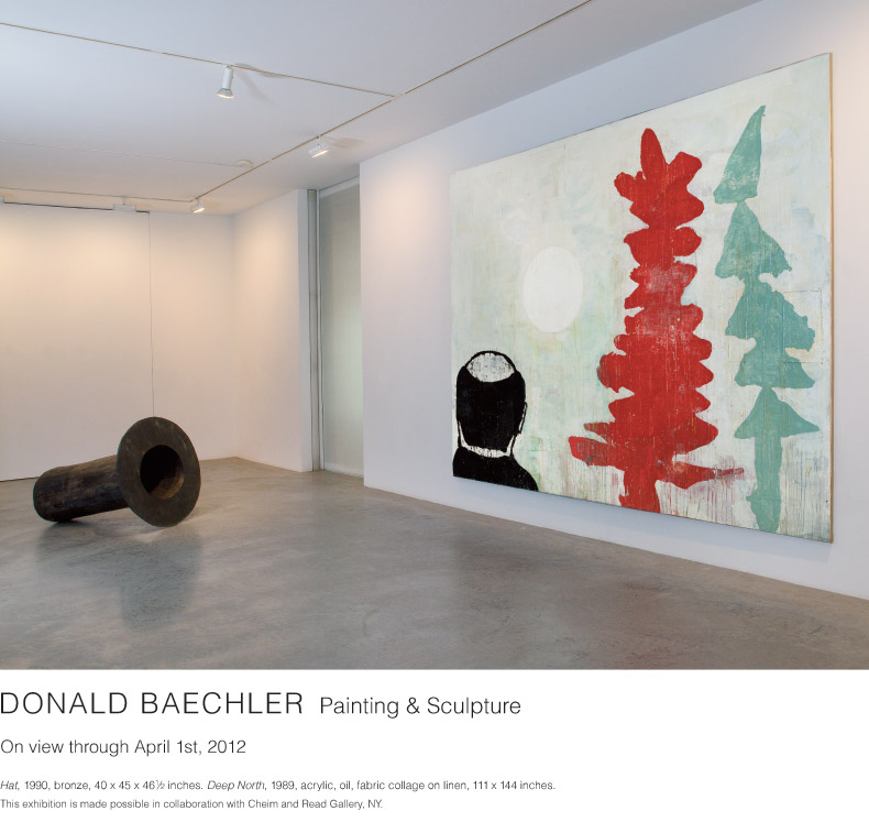 Donald Baechler, Painting & Sculpture