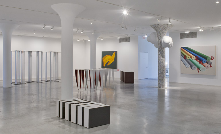 Nancy Dwyer: Painting & Sculpture, 1982–2012, 3rd floor installation view, 2013